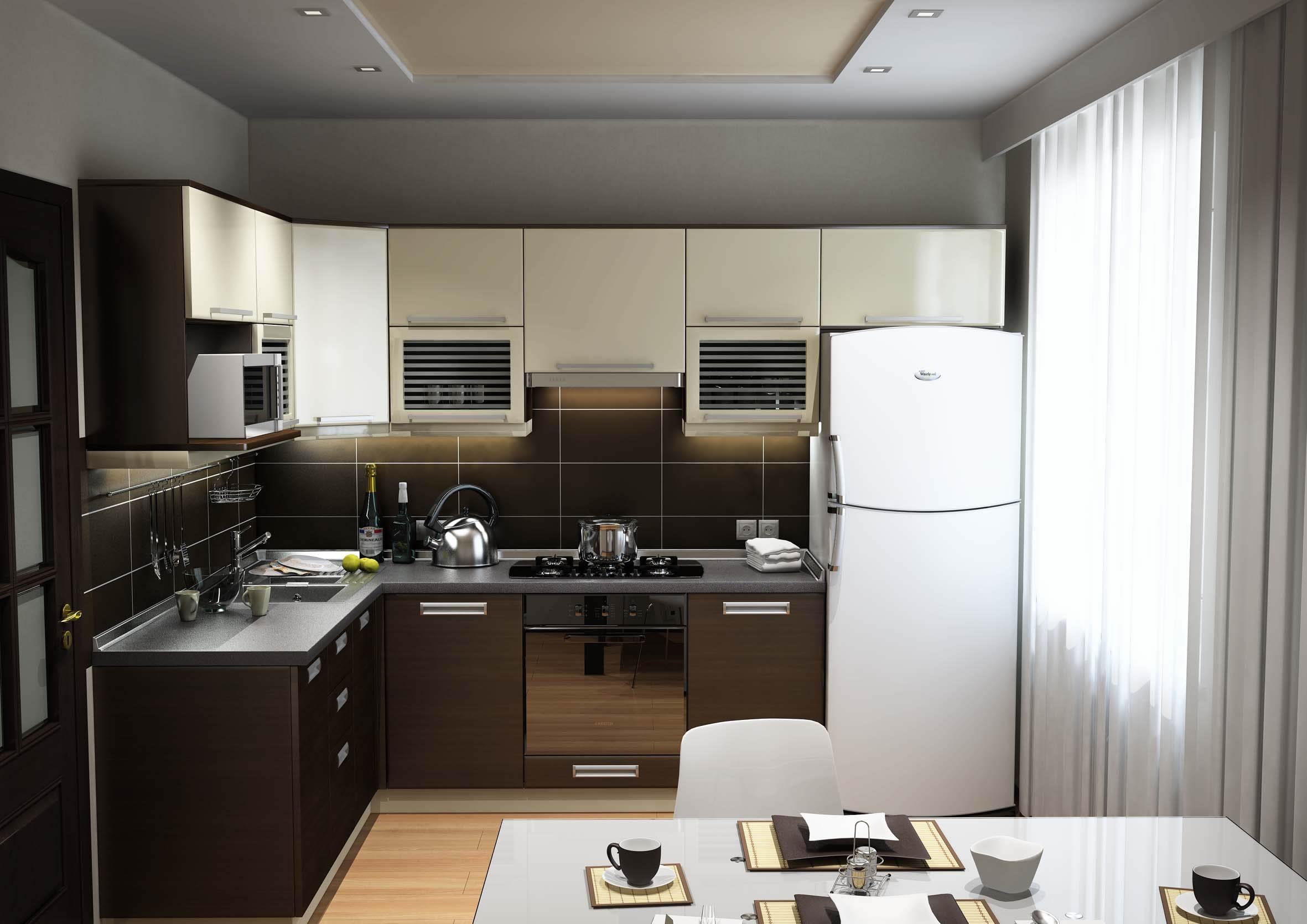 дизайн кухни на заказ от Гермесмебель