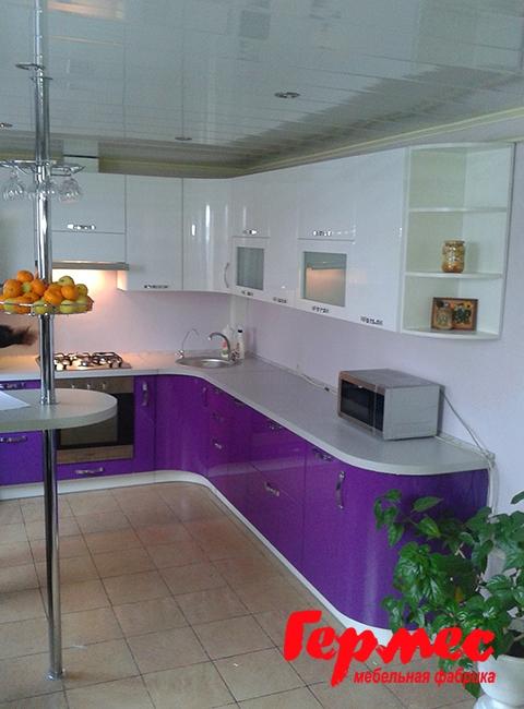 кухня краски фиолет