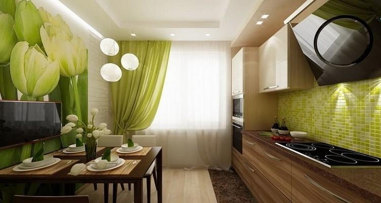 пример оформления кухни от компании Гермес