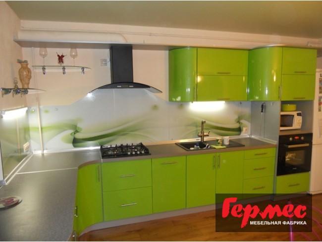 фото оливковой кухни Оля от компании гермес