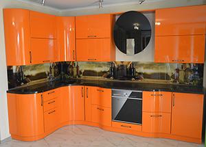 оранжевая кухня Гермес