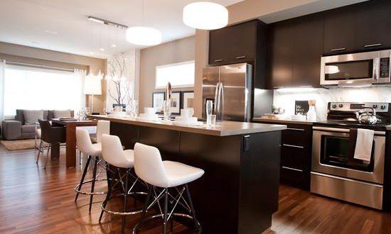 ламинат на кухонный пол фото