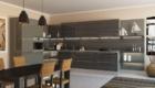 Кухни с фасадами ДСП Egger в просторной кухне